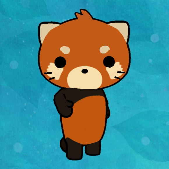 img_ur Cute Red Panda Mochi